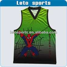 All over sublimation basketball jersey printing ow