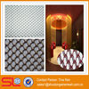 Sample is free!Metal cascade coil silver metallic curtains