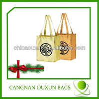 Attractive metallic tote bag