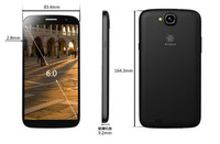 MT6589T Quad Core ZOPO ZP990 with 6 inch FHD 1920*1080 Gorilla Screen, 13MP+5MP AF Camera, 2G RAM+32G ROM ZP990