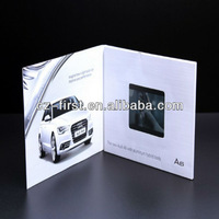 3.5 inch TFT screen hard cover lcd video book
