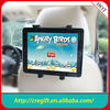 New design car headrest mount portable dvd player