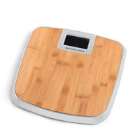 Bamboo electronic personal scale 180kg/396lb