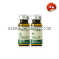 Herbal formula Tea tree essential hair loss solution oil