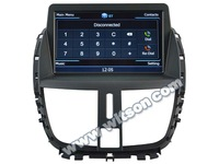 WITSON PEUGEOT 207 touch screen car dvd player
