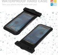 PVC Universal Waterproof Case for samsung galaxy note2/note3,easy pressed transparent sides