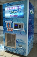 Packaged cube ice vending machine /R404 refrigerant ice vendor (with CE)