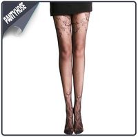 Alibaba China Lace Mesh Stockings New Model Ladies Sexy Pantyhose