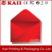 OEM business documents enclosed envelope manufacturer making with machine in china