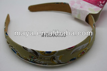 South Africa print style plain hair band
