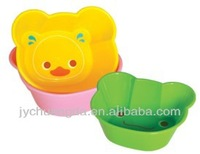 large plastic pet bowl
