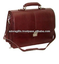 ADALCB - 0044 fashion style laptop bags case / one shoulder laptop bags for business / latest quality leather 15.4 laptop bags
