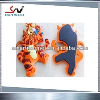 2015 fashionable promotion custom rubber PVC 3d fridge magnets