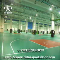 Synthetic Basketball Court Flooring/Outdoor Basketball Courts Rubber Flooring
