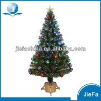 Fiber Optic 4 Green Artificial Christmas Tree Table Decoration