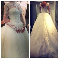 WD03 Long Sleeve Lace Wholesale Wedding Dresses Made In USA