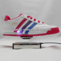 New attractive levitating exhibition display stand, magnetic levitating shoes display stand