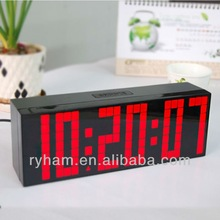 2014 Digital dot matrix led-time monitor digital wall clock