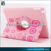 360 rotating stand leather case for ipad 5