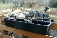 Plastic OEM rotomolding hanging tough and durable livestock feeder trough