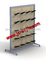 Free standing retail store display rack for shoes/sport shoes display stand for shop mall promotion