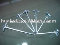 electronic galvanized umbrella head roofing nails