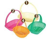 small fruit/vegetable/bread plastic storage basket