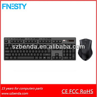 Best selling 2.4G wireless mouse keyboard combos