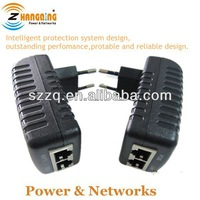 With GS plugs 24V 0.75A poe power adapter POE ethernet adapter