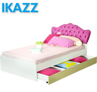 princess girls toddler bed with trundle for kids