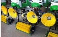 super big brush for automatic car wash cleaning brush forklift road sweeper brushes automatic car wash machine