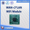 RJ45 TO RJ11 Atheros AR9331 wifi adapter 1wan + 2lan wlan wifi module