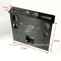 cnc machined aluminum parts 1u itx case for PC/Server with OEM