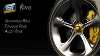 Invisible protection, and easy cleaning for rims(wheels) on motorcycles and cars