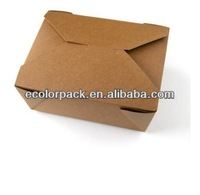 Hot Selling paper take out lunch boxes