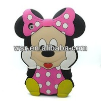 3D Cute Mouse Soft Silicone Case Skin Protective Cover