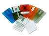Plastic credit card shape plastic material label usb flash drive made in China