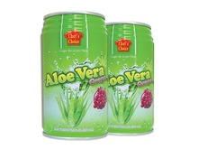 Aloe Vera Drink with Grape flavor