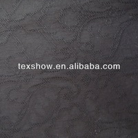 2014 fashion black rayon spandex fabric for women's pants