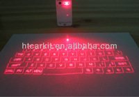 2014 mini wireless Bluetooth with high technology design for portative virtual projector infrared laser keyboard