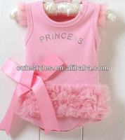 2015 Girls Baby Bodysuits Pink Creepers Bow Baby Rompers Flower Summer Carters Bodysuit Infant Clothes Children Wear RR40318-11