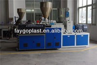automatic blow molding machine with deflashing