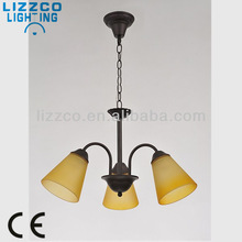 Modern Color Glass Contamporary Chandelier