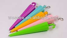 Umbrella shaped promotion ball pen for sale