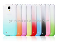 For samsung galaxy S4 mini i9190 new fashion plain dual color elevating case phone accessory