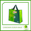 PP woven colorful printing grocery bags wholesale