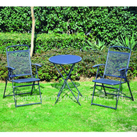 Quality Wrought Iron Outdoor Chairs And Table