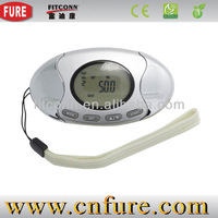 Keep fit products new design 3D pedometer with fat analyzer