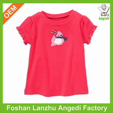 Adorable kids red t-shirts international clothing company
