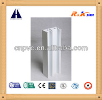 Outstanding noise insulation European Style 88 sliding series plastic pvc extrusion profiles for window frame